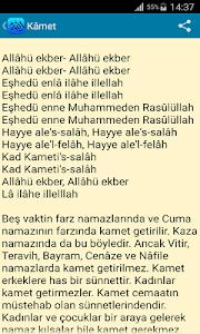 screenshot of Namaz Duaları Ve Sureleri version 2.1.4