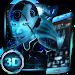 Download Neon Alien Girl 3D Theme 1.1.5 APK