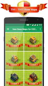 Download New Base Maps for COC 2017 1.0.2 APK