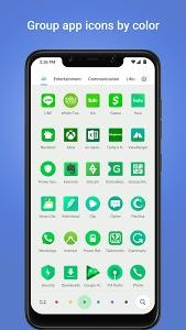 screenshot of POCO Launcher version 2.6.3.7
