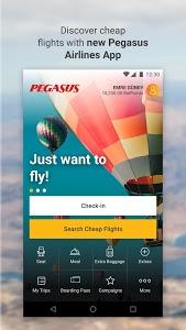 screenshot of Cheap Flight Tickets | Pegasus version 2.4.0