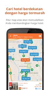 screenshot of Pegipegi Hotel Train Flight version 1.18.3