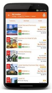screenshot of Pegipegi.com - Hotel & Flight version 1.5.7