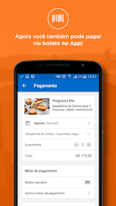 screenshot of Peixe Urbano - Cupons, Descontos e Ofertas version 7.1.18