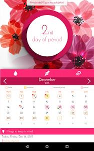 screenshot of Period Calendar, Cycle Tracker version 1.7.1
