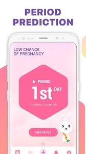 screenshot of Period Tracker, Ovulation Calendar & Fertility app version 1.1.4
