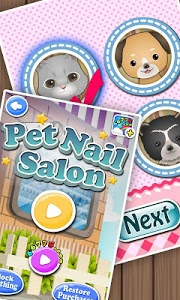 Download Pets Nail Salon - kids games 1.0.1 APK