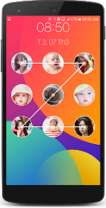 screenshot of Photo Pattern Lock Screen version 3.1.3