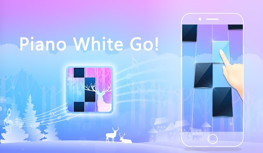 screenshot of Piano White Go! - Piano Games Magic on Tiles version 1.57