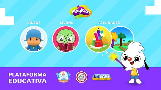 screenshot of PlayKids - Educational cartoons and games for kids version Varies with device