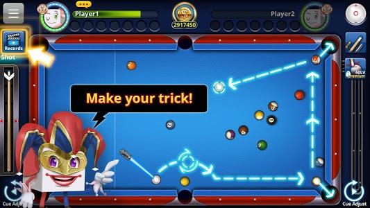 screenshot of Pool 2018 version 1.17.2