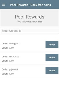 Download Pool Rewards - Daily Free Coins 3.4 APK
