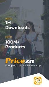 screenshot of Priceza Price Compare Shopping - Get Best Prices version Varies with device