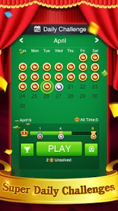 screenshot of Pyramid Solitaire version 2.9.482