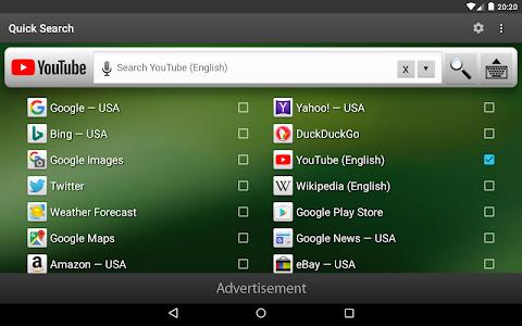 Download Quick Search Widget (free) 4.8 APK