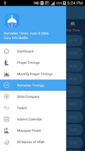 screenshot of Ramadan Times: Muslim Prayers, Duas, Azan & Qibla version 4.7