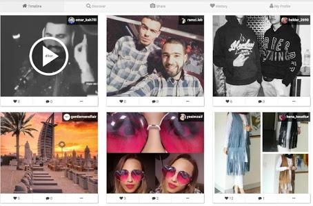 screenshot of Real instagram followers version 1.0
