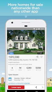 screenshot of Realtor.com Real Estate: Homes for Sale and Rent version 8.18