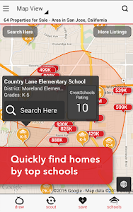 screenshot of Realtor.com Real Estate, Homes version 6.3.3