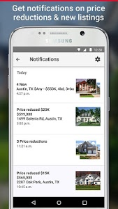 screenshot of Realtor.com Real Estate, Homes version 7.8.1