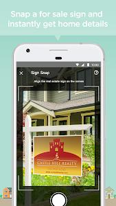 screenshot of Realtor.com Real Estate, Homes version 8.1.2