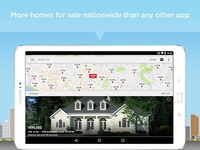 screenshot of Realtor.com Real Estate: Homes for Sale and Rent version 9.1.2