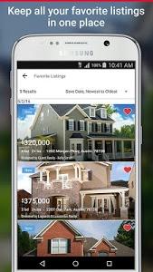screenshot of Realtor.com Real Estate, Homes version 7.4.1