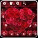 Download Red Love Rose Keyboard 10001006 APK