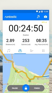 screenshot of Runtastic Running App & Fitness Tracker version Varies with device