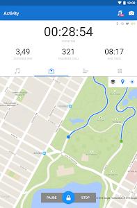 screenshot of Runtastic Running & Fitness Tracker version Varies with device