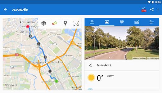 screenshot of Runtastic Running & Fitness version 6.3