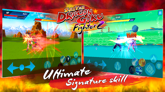 Download Saiyan Dragon Goku: Fighter Z 1.4.0 APK