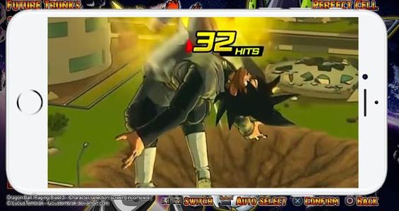 screenshot of Saiyan Ultimate Xenoverse Fusion version 2.0