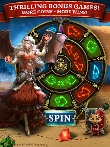 screenshot of Scatter Slots: Free Fun Casino version 3.1.0