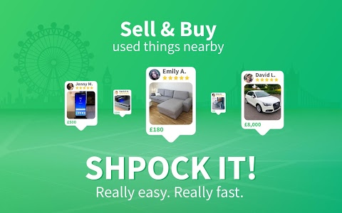 screenshot of Shpock - The local way to sell and buy version Varies with device