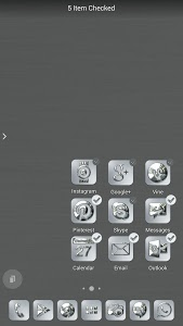 Download Silver Chrome Icon Pack 1.7.0 APK