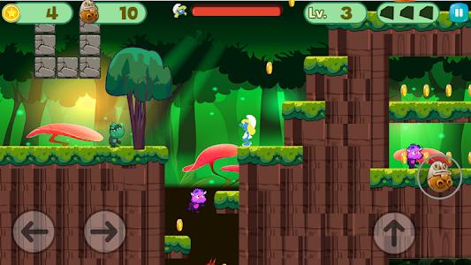 screenshot of Smurf Jungle Amazing Adventure version 1.0