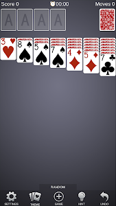 screenshot of Solitaire Card Games Free version 2.4.0