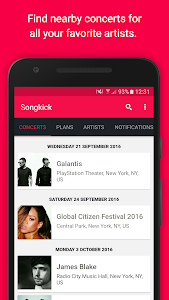 Download Songkick Concerts  APK