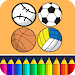Download Sports Coloring Game 4.23 APK
