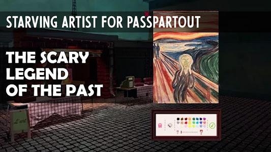 screenshot of Starving Artist for Passpartout version 1.2