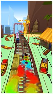 screenshot of Subway Surfers version 1.68.0