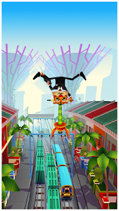 screenshot of Subway Surfers version 1.57.0