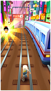 screenshot of Subway Surfers version 1.47.1