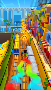 screenshot of Subway Surfers version 1.97.0