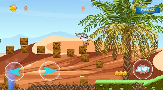 screenshot of Super bugs bunny rabbit Looney version 1.4