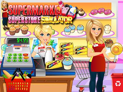 screenshot of Supermarket Grocery Superstore - Supermarket Games version 2.7