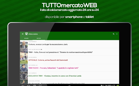 screenshot of TUTTO Mercato WEB version Varies with device