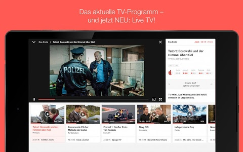 screenshot of TV SPIELFILM - TV Programm version 4.6.0
