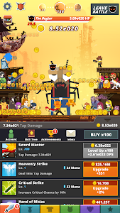 screenshot of Tap Titans 2 version 2.12.1